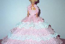 Crochet doll  Barbie