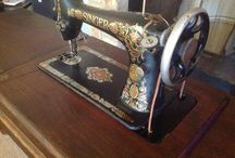 Singer 66 Treadle Red Eye