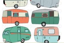 Design - Vintage Camping Illustrations