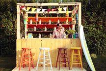 garden bar!