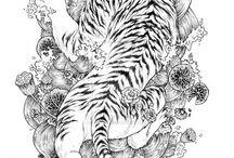 Tiger tattoo / Finishing