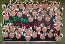 Christmas bulletin boards