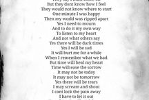My Time to Mourn / by Terri Frasier