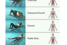 Träning mage