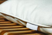 Accessories / Designer accessories for your Seora lounger made with premium outdoor fabrics Sunbrella