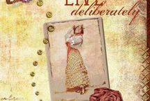 Artist trading card inspiration  / Ideas for ATC's / by Kathy Costello