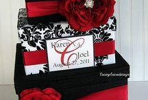 Ajándékdoboz - wedding card box