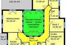 Grundriss Atrium