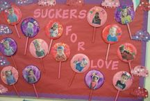 Valentines bulletin board ideas