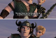 How to train your dragon stuff