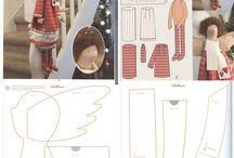 Tilda e bamboline di stoffa