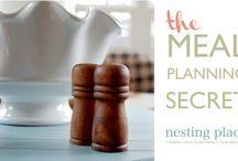 meal planning/freezer meals / by Stephanie Jamison