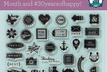 Z CTMH 30 Years of Happy Blog Hop / Scrapbooking
