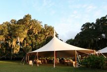 Styles of Tents / There are many styles of tents, some we carry and some we don't.  But all of them are gorgeous!