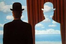 Omul cu palarie - Magritte