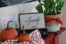Halloween/Fall Decorating / Fall, Halloween, Autumn decor/ ideas / by Andi Kuck