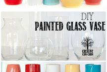 DIY to paint vase