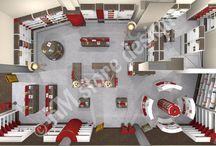 Σχεδιασμός καταστημάτων / Σχέδια διακόσμηση και επίπλωση καταστήματος