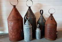 """""""Light It Up"""" Lights and Lanterns / Vintage and farmhouse style lights and lanterns"""