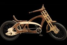 wood bicykle