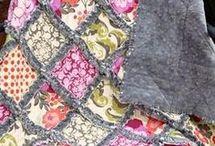 Rag quilt. Foltos takaró