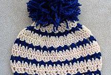 gorros al crochet