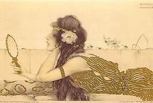 art nouveau / by Helenedeer