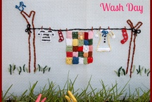 Embroidery / Wash Day / by Jo