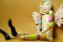 Crafts ~ Doll Making & Inspiration Pics / by Robin Mundy
