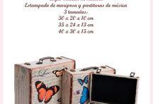Cajas by Andala / En Andala nos encantan las cajas. Por eso, no podemos evitar traerlas en todos los tamaños, tipos, motivos... Nos parece un regalo práctico porque podrás guardar todo eso que nunca sabes donde colocar ... y a la vez es un objeto de decoración.