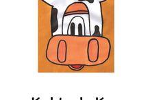 Kobie de Koe / Kobie de Koe zijn prentenboekjes, geschreven op rijm. De tekeningen zijn in een simplistische stijl gemaakt.