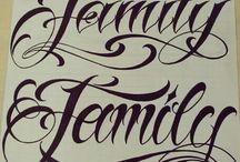 Tattoo letras