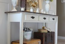 Shabby chic room / Decor