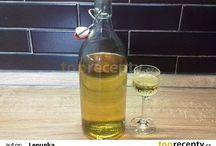 Domácí sirupy,alkohol