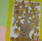 craft : leaf tree craft