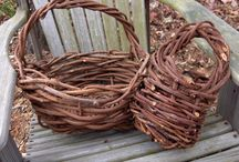 Willow weaving - basket, furniture