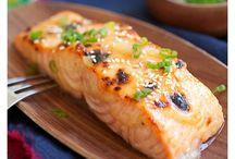 savories: seafood entree