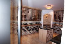Wine Rooms / All original designs and cabinetry by P & M Renovations.