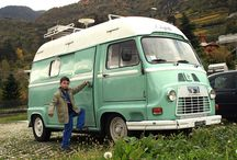 Renault Estafette / Looking for inspiration for our little camper