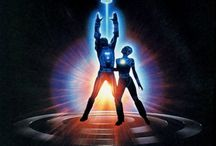 TRON / This movie helped propel the use of computer generated imagery forward.