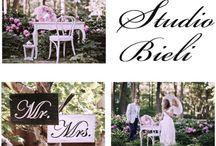 Studio Bieli / #weddings #garden #beautiful #workshop