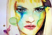 pinturas donde predomina la expresividad y personalidad