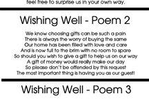 Wishing well poems