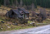 Russian Village / Российские деревни, фермы итд.