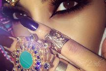 Arabic Jewerly and Make up