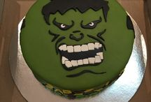 The Incredible Hulk / Cake and party ideas of Incredible Hulk