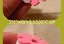 tampon fleur