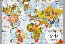 ♥NÄHIDEEN KINDERZIMMER♥ / Das Kinderzimmer ist ein Ort zum Wohlfühlen! Gerade für die Kleinsten ist es wichtig mit allen Sinnen angesprochen zu werden! Wir haben auf dieser Pinnwand tolle Ideen und Freebooks rund um das Thema gesammelt! Viel Spass beim Kreativsein wünscht Dir dein stoffe-hemmers Team childrensroom diy ideas sewingideas decoration kidsroom home ideas