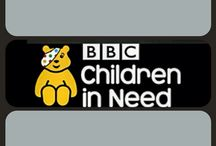"""For #CIN Children In Need x #STOPEBOLA x #do / @Netsxxxx 's New Charity Designs In Support Of Children In Need Africa and Beyond  Re: Sierra Leone and The #SLWT Sierra Leone War Trust http://slwt.org.uk and  Children In Need x """"Ebola Turned Pudsey Grey"""" / by Nets F-model"""