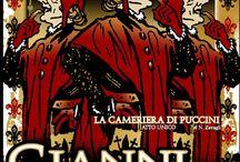 Opera posters. Puccini. Gianni Schicchi